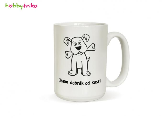 Hrnek se psem - Jsem dobrák od kosti