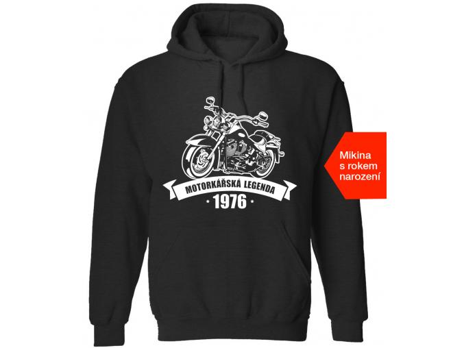 motorkářská mikina
