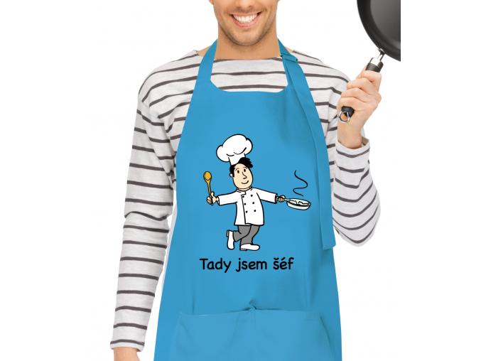 kuchaňská zástěra pro muže