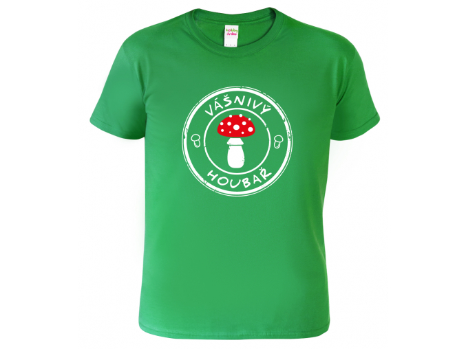 Triko dětské - Vášnivý houbař - Mochomůrka