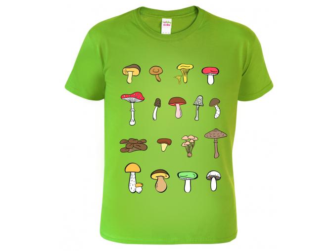 Dětské houbařské tričko