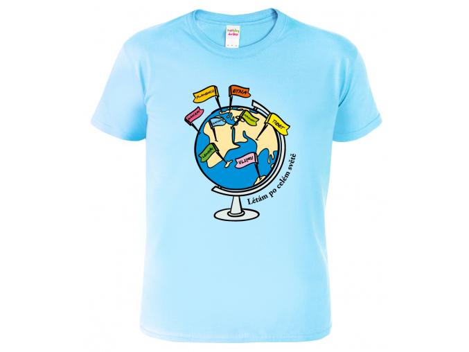Tričko pro cestovatele  - Globus