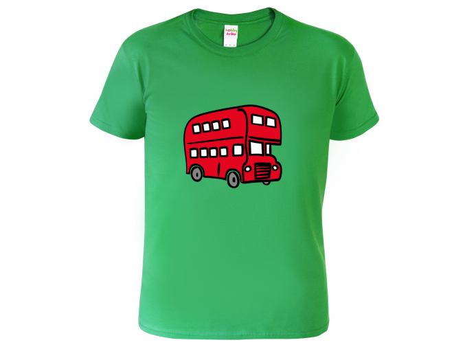 Triko dětské - Double Decker Bus