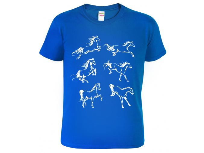 Dětské tričko s koněm