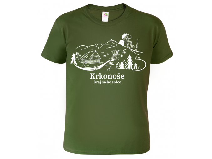 Pánské tričko Krkonoše