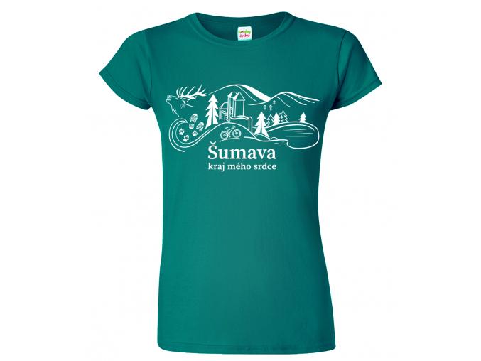 Dámské tričko - Šumava