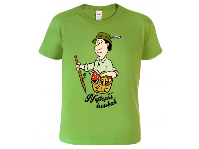 dárek pro houbaře - tričko s potiskem