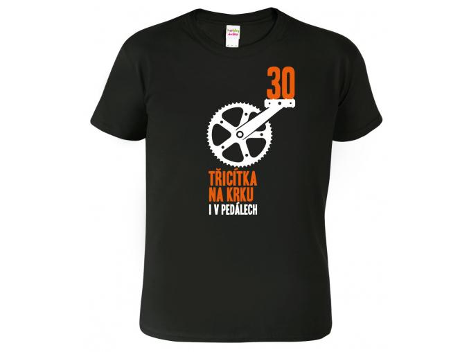 Vtipné tričko ke 30. narozeninám pro cyklistu