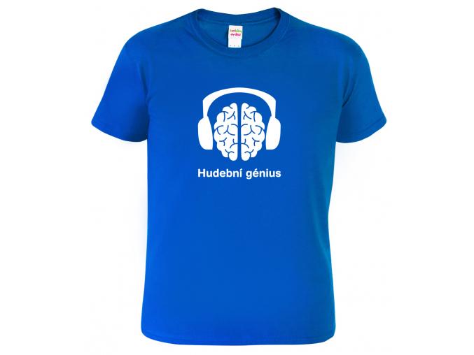 Pánské tričko pro muzikanta - Hudební génius