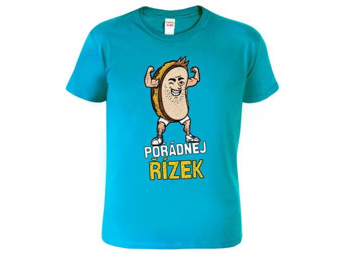 Vtipné tričko - Pořádnej řízek