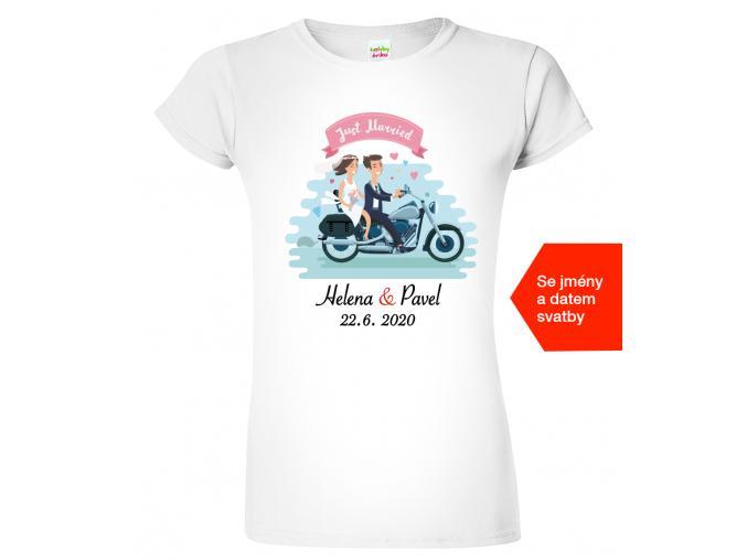 Tričko pro nevěstu