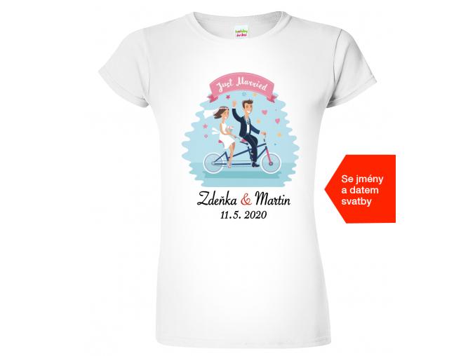Tričko nevěsta