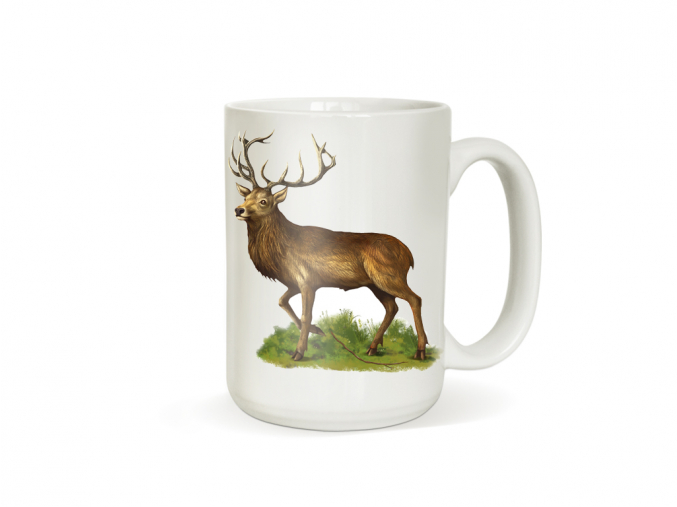 Dárek pro myslivce - Hrneček s jelenem