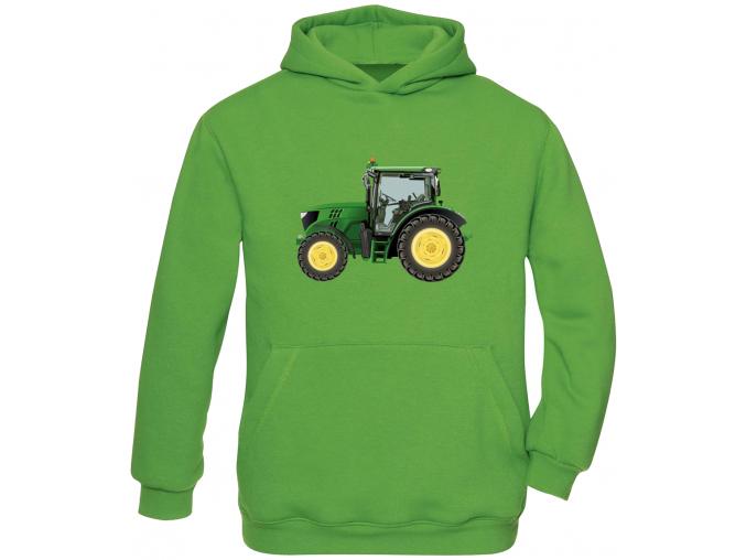 Dětská mikina s traktorem