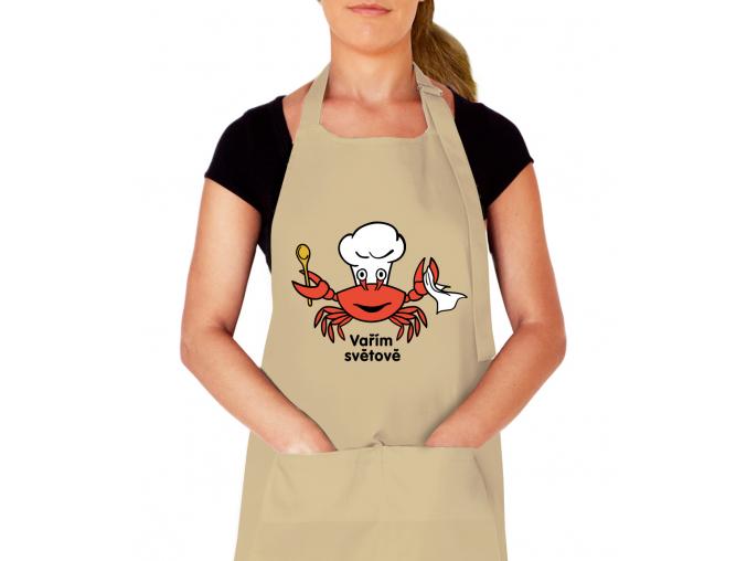 kuchaňská zástěra na vaření