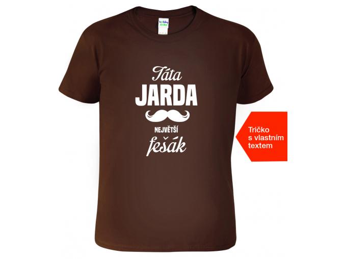 Tričko pro tátu - Největší fešák (SLEVA)
