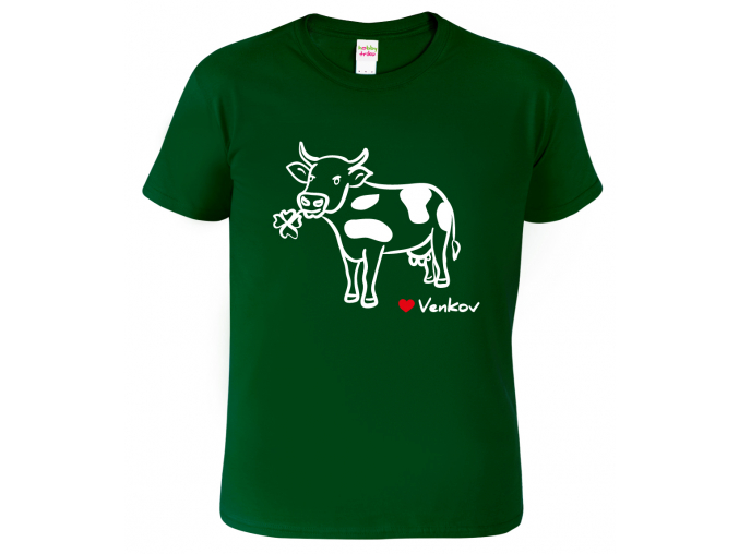 Tričko pro chalupáře - Kráva