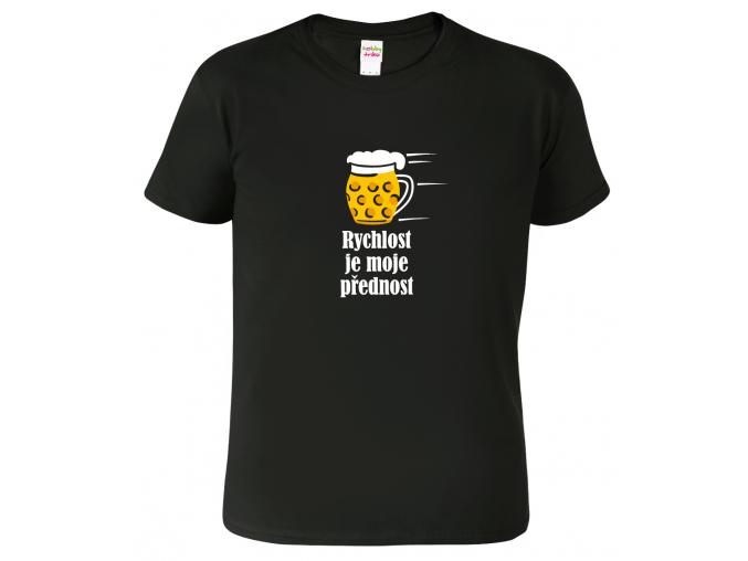 Tričko pro výčepní - Rychlost je moje přednost