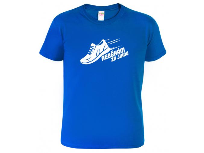 Pánské běžecké tričko - Neběhám za jinou