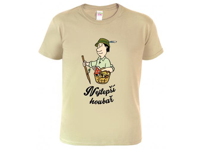 Tričko pro houbaře - Nejlepší houbař (SLEVA)