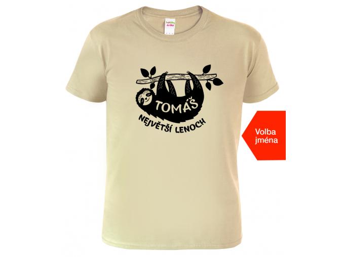 Tričko s lenochodem