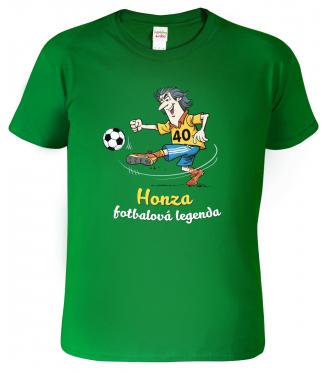 Fotbalové tričko - HONZA 40 - Fotbalová legenda (SLEVA)