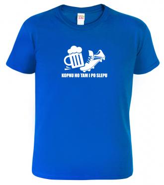 Vtipné pivní tričko pro fotbalistu
