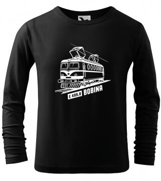 Dětské tričko s vlakem