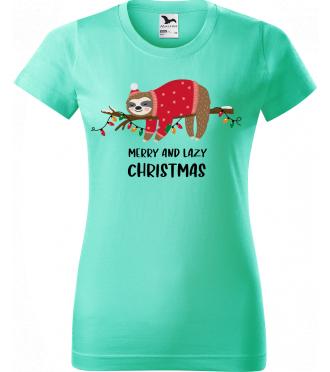 Vánoční tričko
