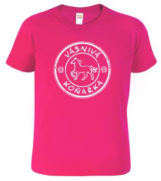 Dětské tričko s potiskem koně