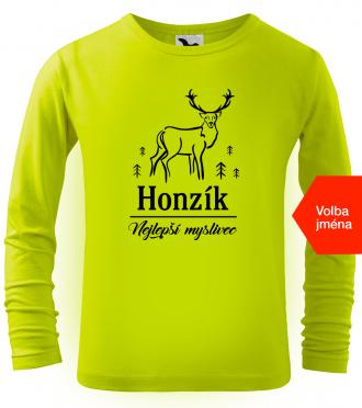 Dětské tričko s jelenem pro nejlepšího myslivce