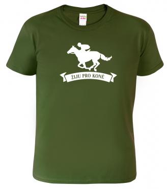 Pánské tričko s koněm