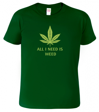 Tričko s marihuanou