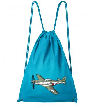 Batůžek s letadlem