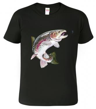 trička s potiskem pro rybáře