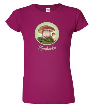 Dámské tričko pro houbaře - Houbařka