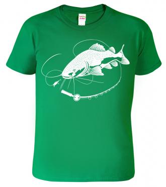 Tričko jako dárek pro rybáře - Sumec
