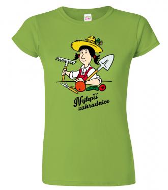Tričko pro zahradnici - Nejlepší zahradnice