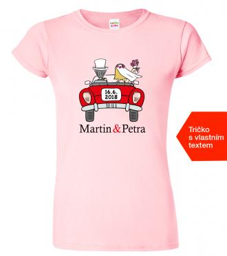 Svatební dárky - tričko