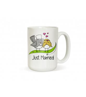 Svatební dar pro novomanžele - Svatební hrneček