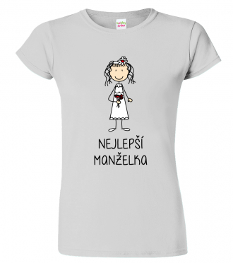 Svatební dar pro novomanžele - svatební tričko