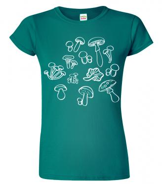 Dámské houbařské tričko