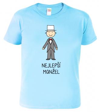 Tričko pro páry -  Nejlepší manžel
