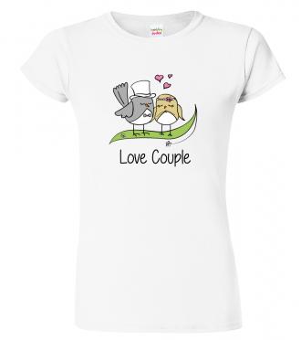 Tričko pro páry -  Love Couple