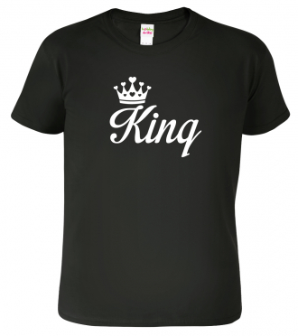 Tričko pro páry King Queen