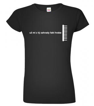 Tričko jako dárek pro zahradnici
