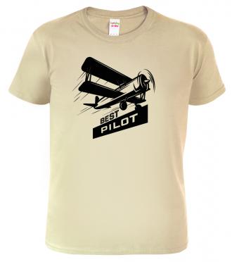 tričko s letadlem pro nejlepšího pilota