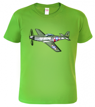 Dětské tričko s letadlem