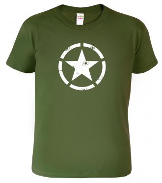 Tričko - Hvězda americké armády - US STAR