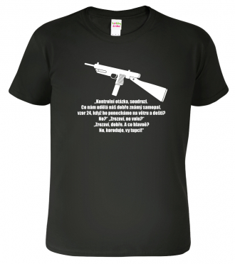 Vojenské tričko - Hláška z Černých Baronů